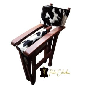 silla-director-con-piel-de-vaca-blanco-negro-4