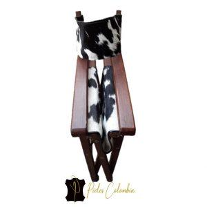 silla-director-con-piel-de-vaca-blanco-negro-5