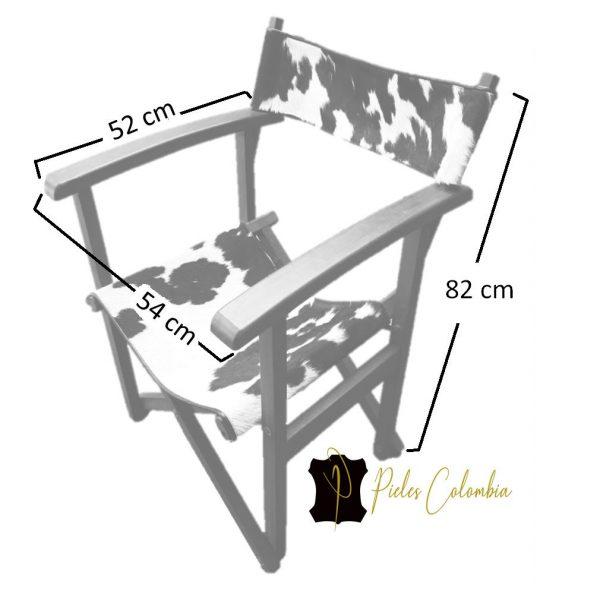 silla-director-con-piel-de-vaca-blanco-negro-xyz