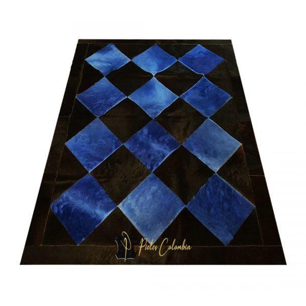 tapete-patchwork-tenido-de-piel-de-vaca-negro-azul-7