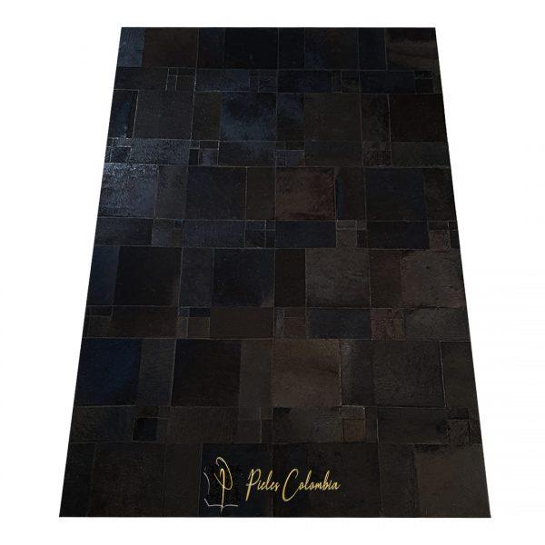 tapete-patchwork-de-piel-de-vaca-negro